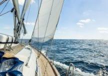 Ankern bei kräftigem Wind und starker Strömung
