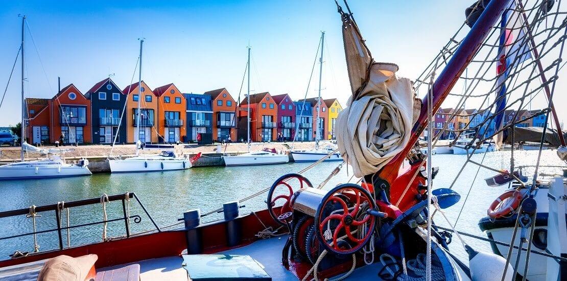 Abwechslungsreiche Segelreviere bei Holland