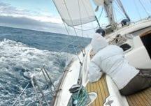 In den stürmischen Monaten die Segel reffen