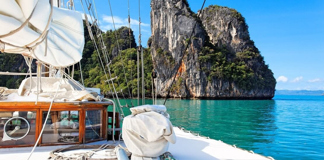 Segeltraum: Hunderte Inseln in Thailand