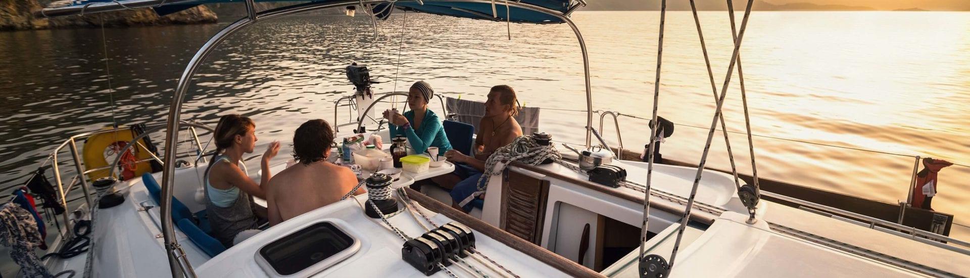 Segeltörn auf hoher See: Abfallentsorgung auf dem Boot
