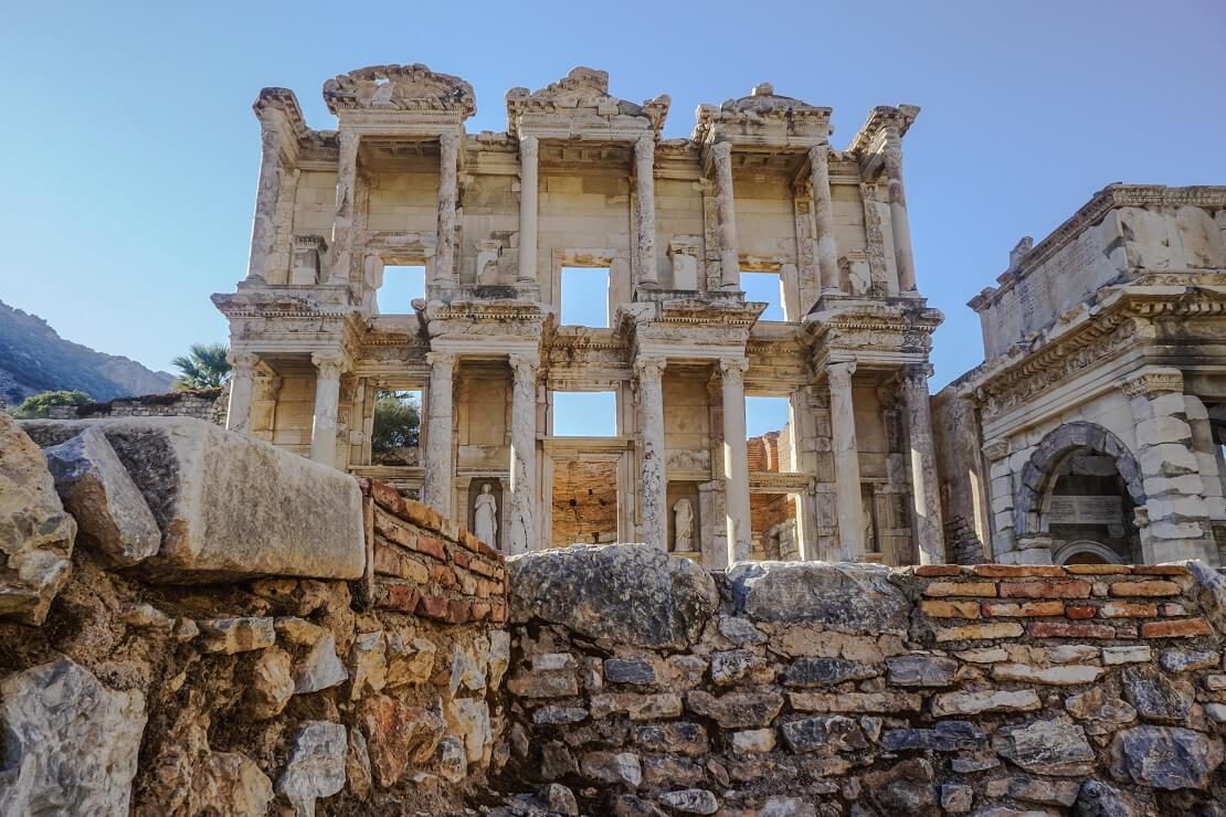 Der Tempel der Artemis in der Türkei