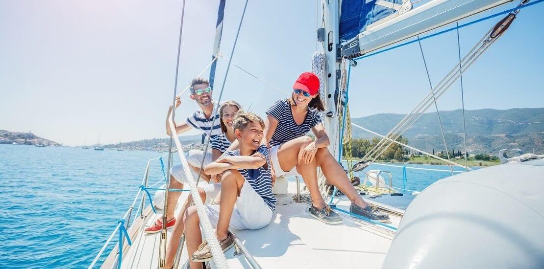 Ein Abenteuer für die ganze Familie – Segeln mit Kindern