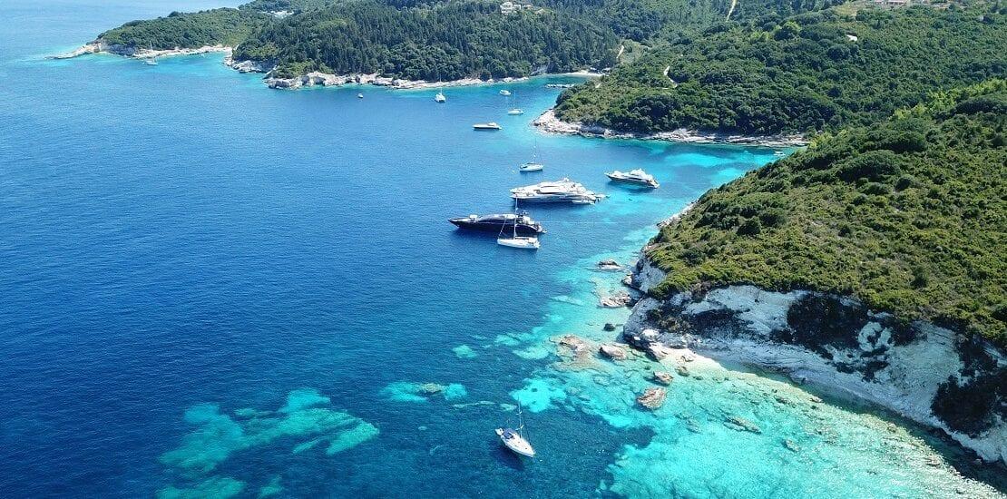 Segeln bei den sieben Ionischen Inseln