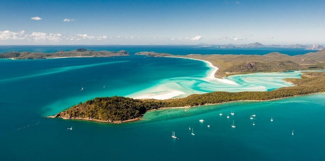 Whitsunday Islands: Segeln durch das Great Barrier Reef