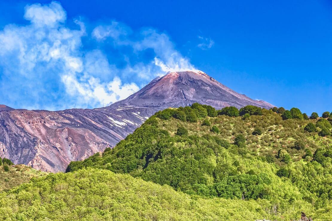 Vulkan Ätna in Sizilien