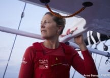 Liebevolle Abschluss-Geste: Davies segelt riesiges Herz bei der Vendée Globe