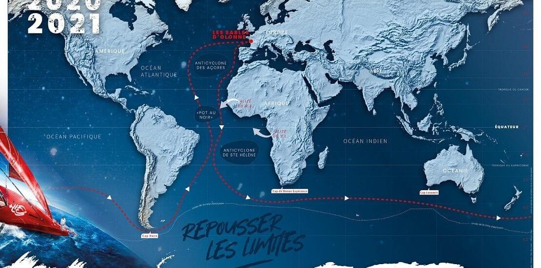 Rückblick: Die Hotspots der Vendée Globe