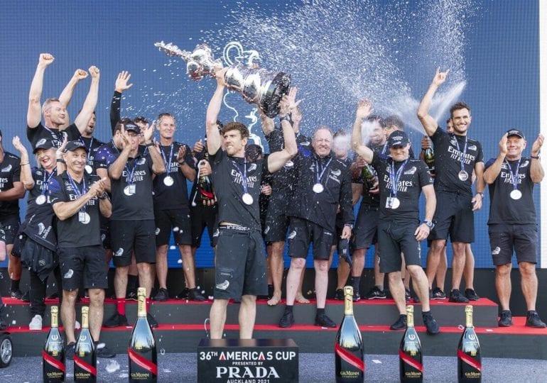 Sie haben es wieder getan — Team New Zealand gewinnt den Cup