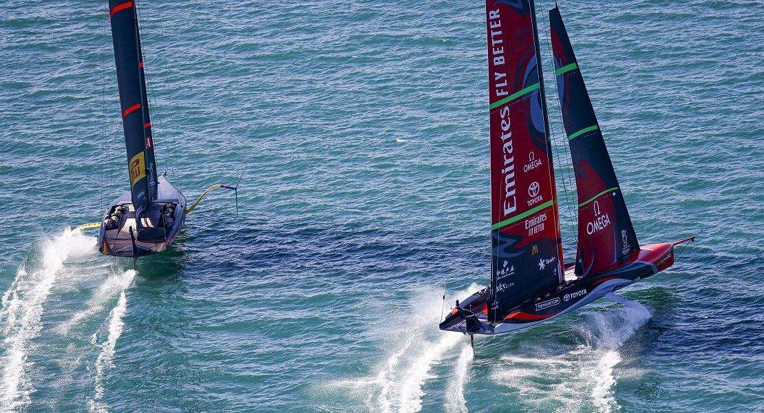Das Team aus Neuseeland fährt eine Wende