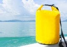 Die Segeltasche – Vor allem wasserdicht muss sie sein