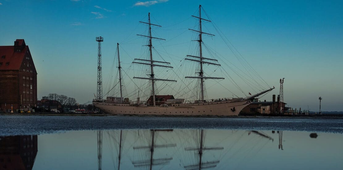 Die Gorch Fock I als Vorgänger des bekannten Segelschulschiffes