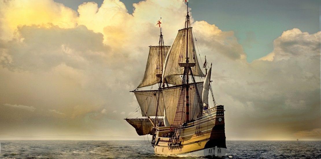 Die Mayflower und ihre Reise in die Neue Welt