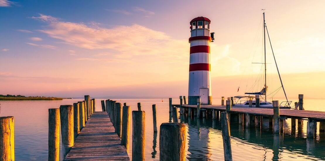 Neusiedler See: Segeln an 300 Sonnentagen im Jahr