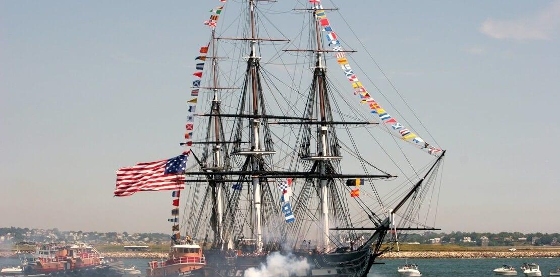 Die USS Constitution als Inbegriff US-amerikanischer Seemacht
