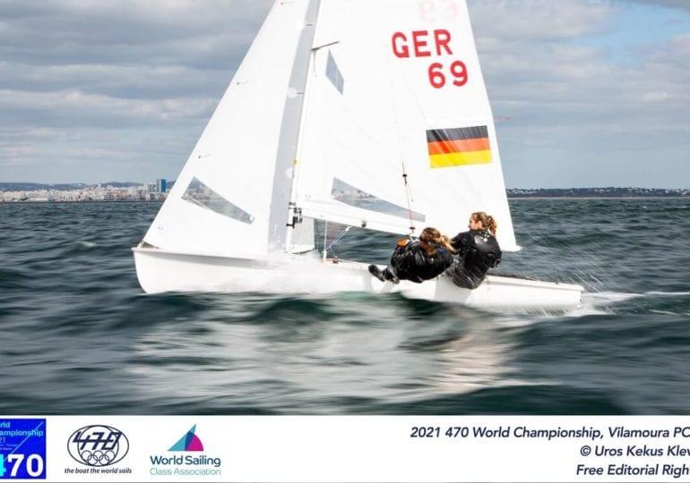 470er EM: Vielversprechende Platzierungen der deutschen Seglerinnen