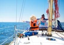 Optimale Bedingungen beim Familientörn im Mittelmeer
