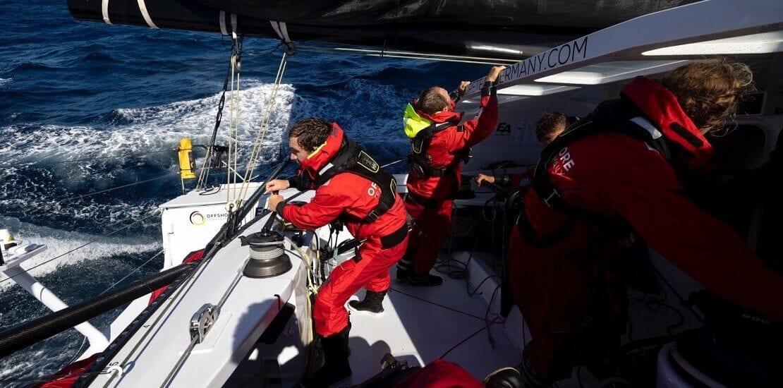 Ocean Race Europe: Zweiter Platz für das Offshore Team Germany im Leg 2