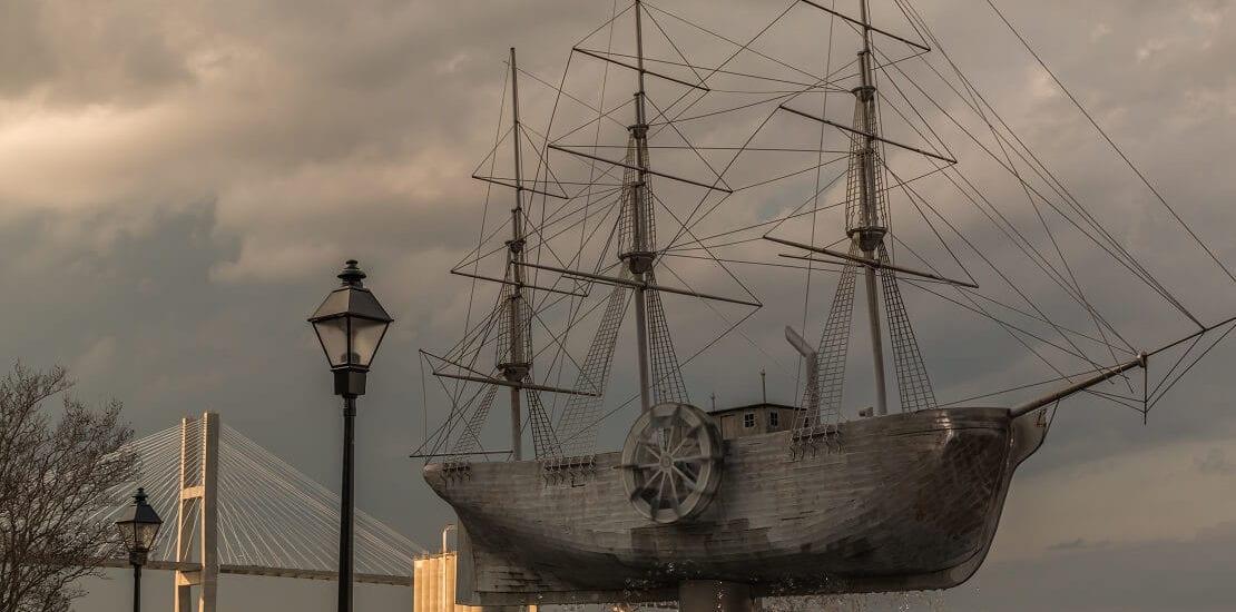 Savannah: Vom Segelschiff zum Dampfschiff und zurück