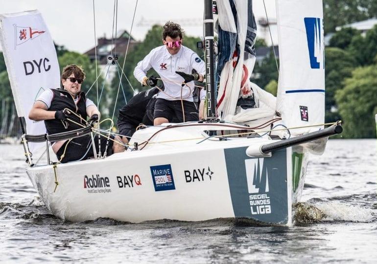 2. Segel-Bundesliga: Düsseldorfer Yachtclub segelt an die Tabellen-Spitze
