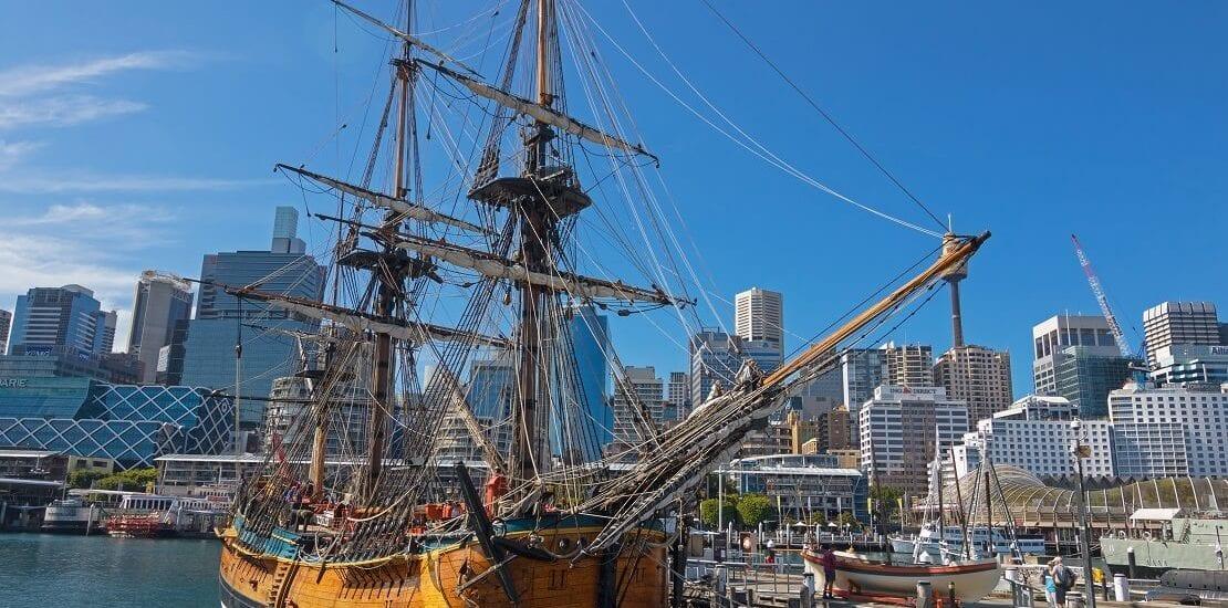 Segelhistorie: James Cook macht die Endeavour weltberühmt