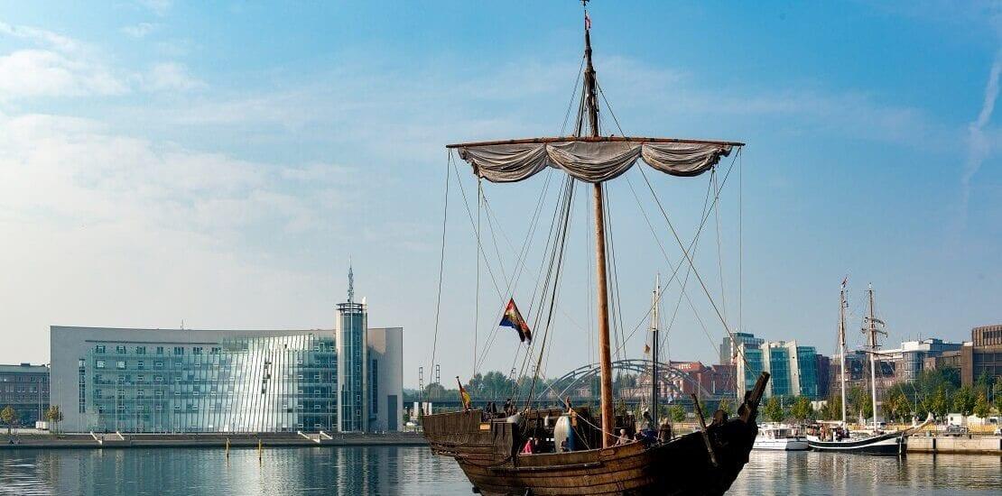 Die Kogge als Handelsschiff des Mittelalters