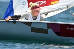 Olympia: Svenja Weger übernimmt nach zweitem Lauf überraschend die Gesamtführung