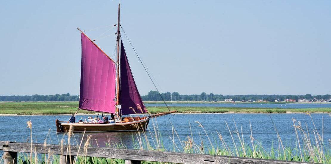 Zeesenboot: Tradition mit rotbraunem Segel