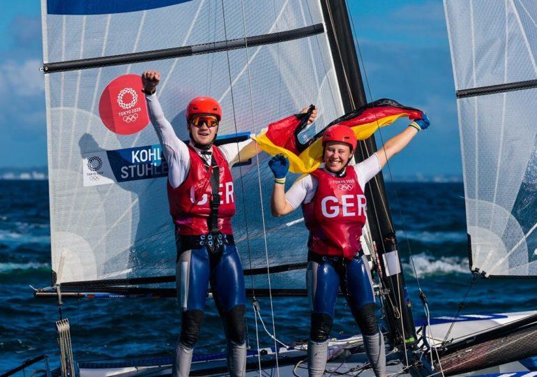 Olympia 2021: Medaillen-Triple für den Deutschen Segler-Verband