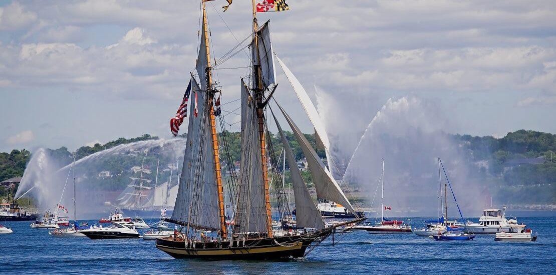Baltimoreklipper als Synonym für schnelles Segelschiff