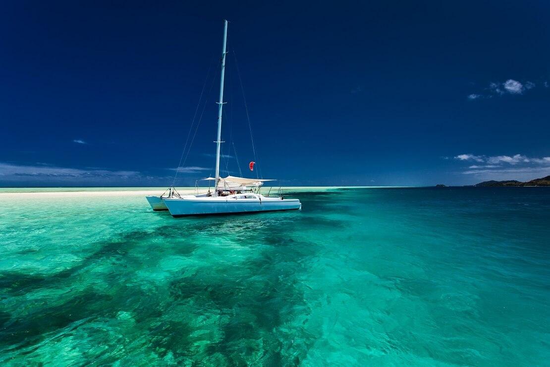 Fiji mit Katamaran