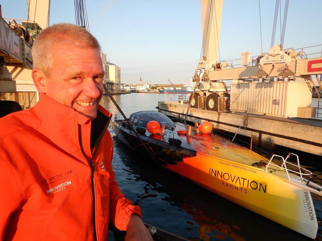 "Robert Sedlacek mit der ""Ant Arctic Lab"""