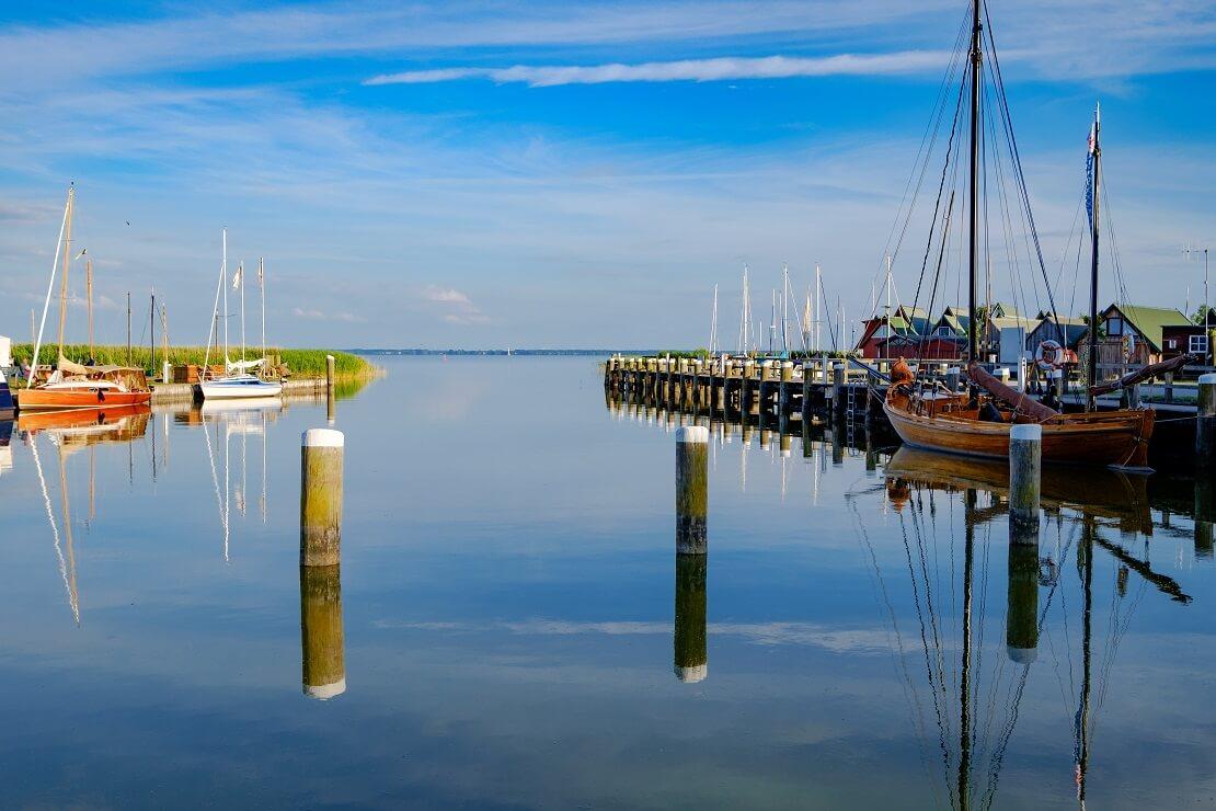 Boddenhafen von Ahrenshoop