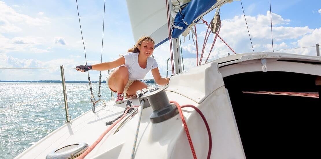 Nachwuchsförderung: Angehende SkipperInnen starten bei offener Langstreckenregatta