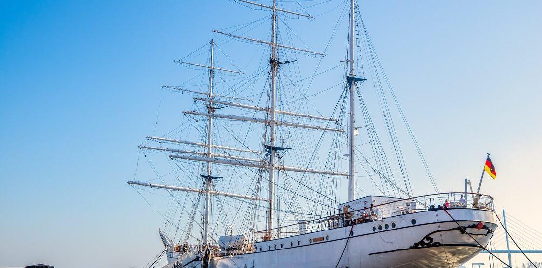 """""""Gorch Fock""""-Schulschiff zurück bei der Marine"""